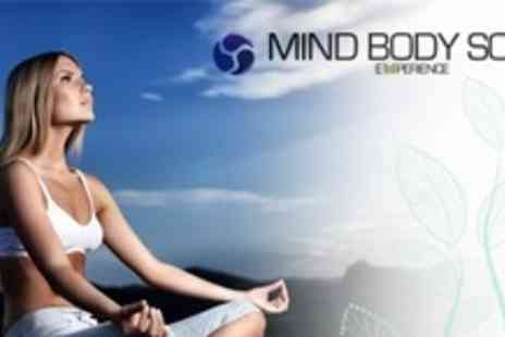 Mind Body Soul Experience - Two Tickets With Copy of Om Yoga Magazine to Share - Save 59%