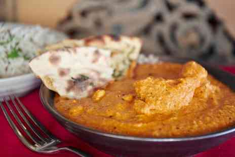 Spice Room - Two Course Indian Meal for Two or Four - Save 52%