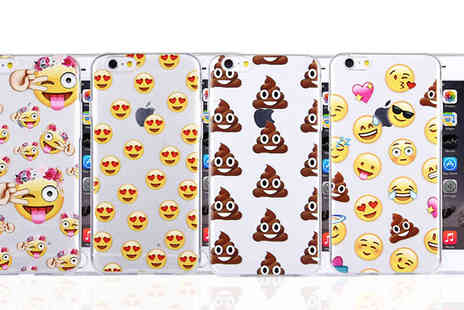 The Fone Stuff Ltd - 1,2, 3 or 4 Emotion Icons iPhone 6, 6S Cases Choose Four Designs - Save 0%