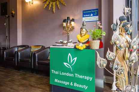 Thai London Therapy - HR Special Hour Choice of Massage - Save 0%