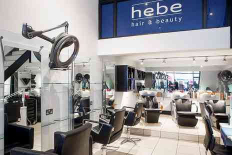 Hebe Hair Salon - L Oreal Mizani Butter Blend Relaxer & Full Blow Dry - Save 50%