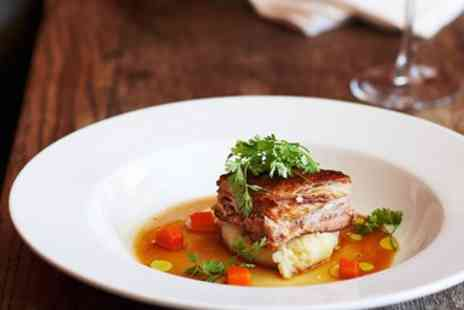 The Oakhouse Hotel - 2 AA Rosette Tasting Menu & Coffee for 2 - Save 60%