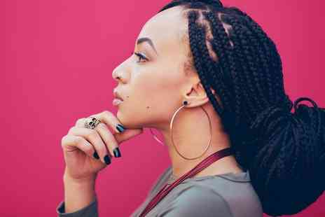 Premier Hairdressing - Full Head of Basic Cornrow Braids or Box Braid Plaiting - Save 0%