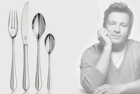 Groupon Goods Global GmbH - Jamie Oliver 32 Piece Cutlery Set With Free Delivery - Save 0%