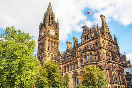 SuperBreak - Overnight Manchester stay with breakfast and three course meal - Save 58%
