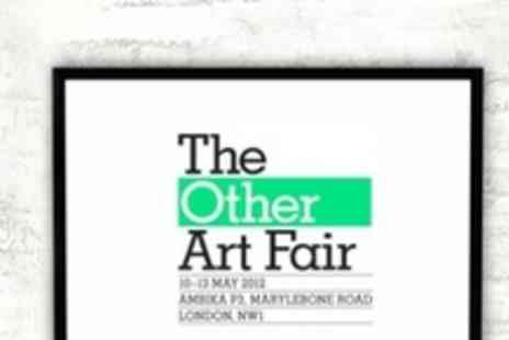 The Other Art Fair - The Other Art Fair Two Public Viewing Tickets at London - Save 50%