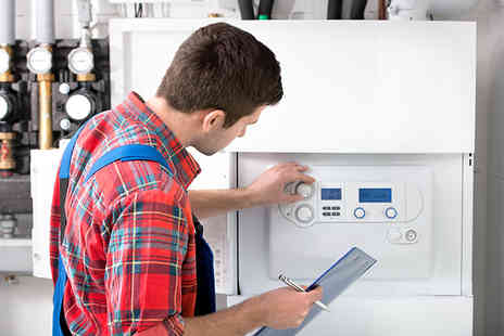 Warm Heat - Full boiler service, inspection and safety certificate - Save 80%