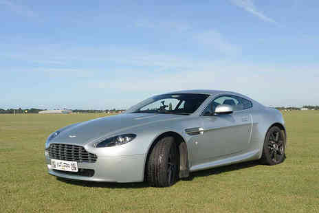 Supercar Test Drives - Three lap James Bond Aston Martin driving experience with Supercar Test Drives - Save 74%