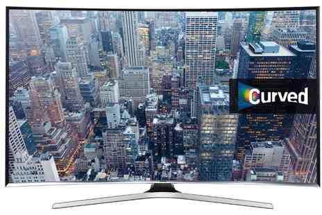 Groupon Goods Global GmbH - Samsung UE55J6300 Smart 55 Inch Curved LED TV With Free Delivery - Save 0%
