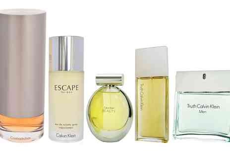 Groupon Goods Global GmbH - Calvin Klein Fragrances for Her or for Him - Save 0%