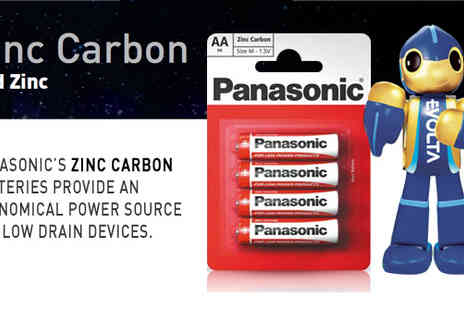 Gadgets & Products - Pack of Panasonic batteries for £1 with FREE P&P - Save 57%
