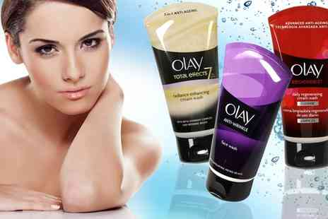 Groupon Goods Global GmbH - One or Two 150ml Olay Anti Wrinkle, Total Effects or Regenerist Face Washes - Save 0%