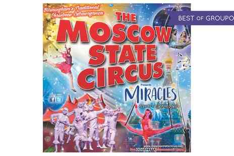 Moscow State Circus - Moscow State Circus on 20 December 2016 To 8 January 2017 - Save 53%