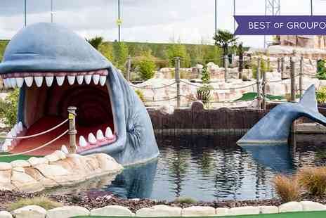 Moby Golf - Adventure Golf  for Adults and Children - Save 33%
