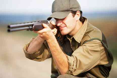 Central Scotland Shooting School - Clay Pigeon Shooting with 30, 40 or 50 Clays - Save 0%