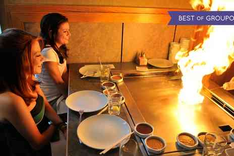 Sakura - Four Course Teppanyaki Dining Experience for One, Two or Four - Save 46%