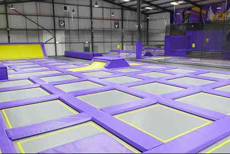 Gravity Force Sunderland - One or Two Hour Trampoline Park Access for Up to Four - Save 25%