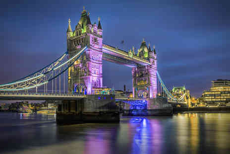Holiday Search 247 - One or two night 4 Star London getaway with a Wembley Stadium tour or Thames River cruise - Save 60%
