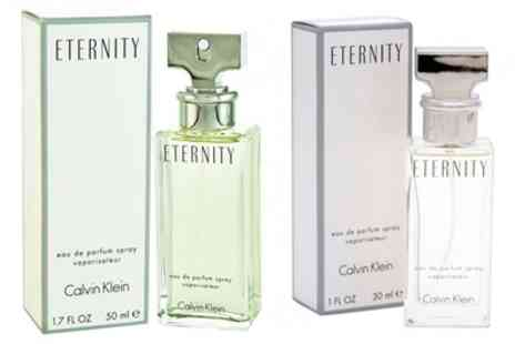 Groupon Goods Global GmbH - Womens Calvin Klein Eternity EDP Spray 30ml or 50ml With Free Delivery) - Save 34%