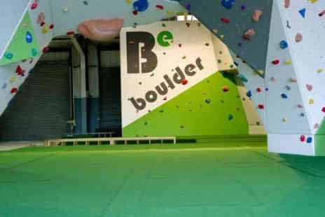 BeBoulder - Climbing session for one - Save 50%