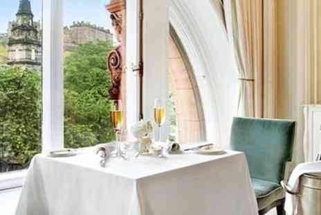 The Caledonian Operation Company - Dinner & Champagne with Castle Views - Save 40%