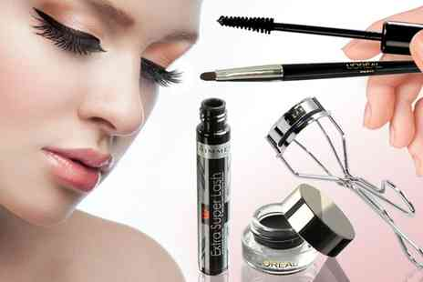 Groupon Goods Global GmbH - LOreal Eyeliner, Rimmel Mascara and Liz Earle Eye Lash Set - Save 0%