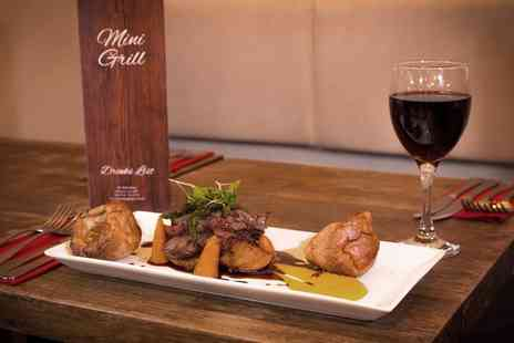 Mini Grill - Sunday Roast for Two or a Family of Four - Save 0%