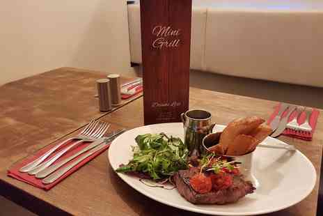 Mini Grill - Steak and Prosecco for Two or Four - Save 0%