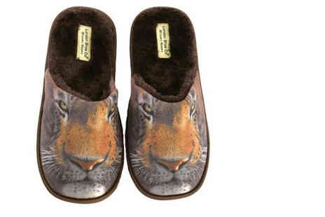 London Shoe Co - Mens novelty slippers available in four designs - Save 0%