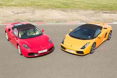 Buyagift - Double supercar driving blast experience at a choice of over 20 locations - Save 0%