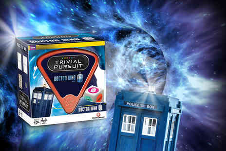 Linen Ideas - Dr Who themed Trivial Pursuit - Save 50%