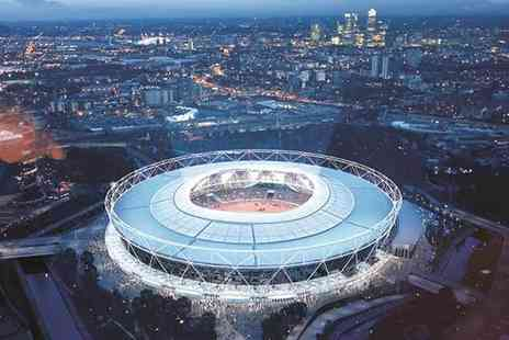 Buyagift - 75 minute London Stadium tour for two people - Save 0%