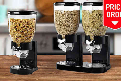 Denny International - Dry Food Storage Container Dispenser - Save 73%