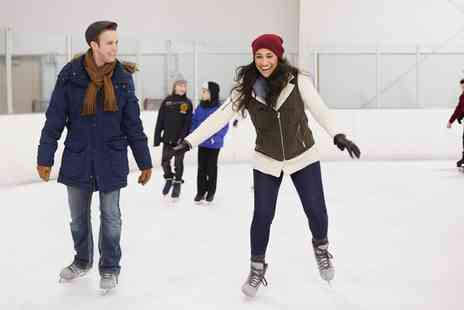Camberley on Ice - 45 Minute Ice Skating Session Child, Adult and Family Ticket - Save 50%