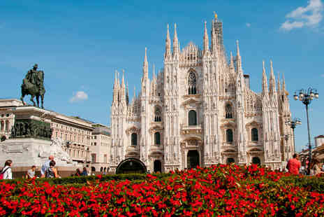 Weekender Breaks - Two or three night 4 Star Milan break with flights and breakfast - Save 48%