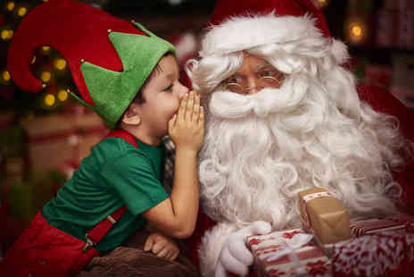 Midland Railway Butterley - Family ticket for a Santa Special train ride - Save 44%