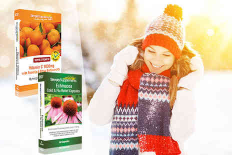 Pinnacle Health - Cold and flu supplement bundle - Save 11%