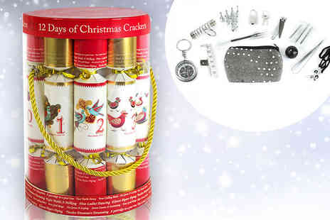 Yes Online - 12 Days of Christmas cracker set - Save 50%