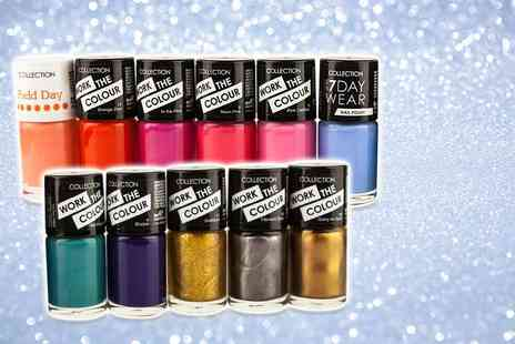 GB GIFTS - Set of 11 Collection nail polishes - Save 70%