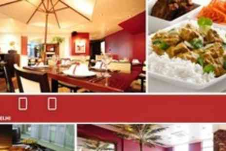 4500 Miles from Delhi - Indian All You Can Eat Lunchtime Buffet Meal For Six - Save 56%
