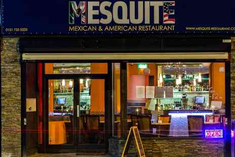 Mesquite Restaurant - Mexican meal with Wine or Beer for Two or Four - Save 56%