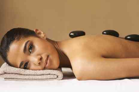 I Brow Beauty Salon - 30 Minute Hot Stone Back, Neck and Shoulder Massage, Mini Facial or Both - Save 0%
