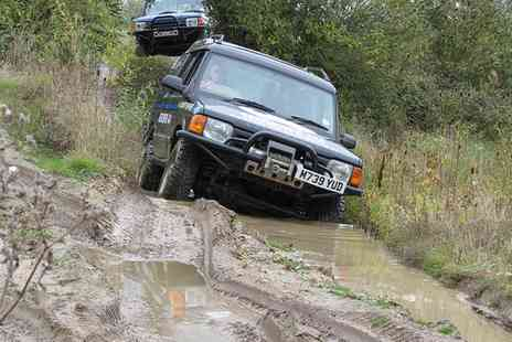 Berkshire 4x4 - Adult or Junior Shared Adventure 4x4 Off Road Driving Experience - Save 67%