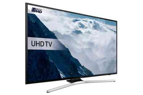 Groupon Goods Global GmbH - Samsung UE40KU6020 HDR 4K Ultra HD TV With Free Delivery - Save 33%