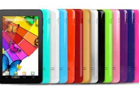 Groupon Goods Global GmbH - Kocaso 7 Inch Quad Core Tablet MX780 Android 4.4 With Free Delivery - Save 0%