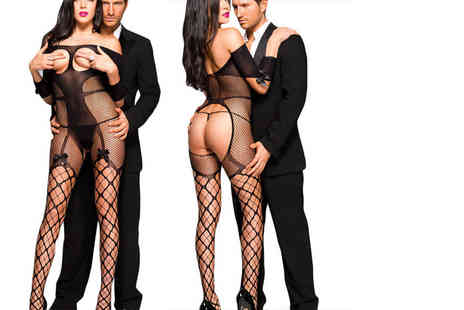 Who Runs the World - Sexy peek a boo bodystocking have some fun this Christmas - Save 73%