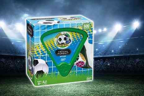 Linen Ideas - World football trivial pursuit game - Save 60%