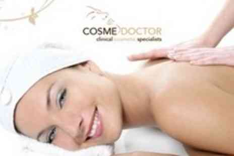 Cosmedoctor - 90 Minute Pamper Package Including Full Body Massage and Choice of Facial - Save 64%