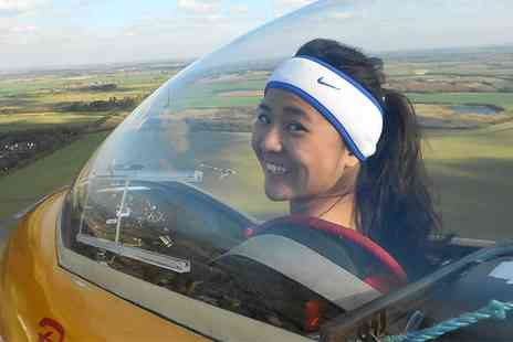 Bicester Gliding Centre - Two Winch Glider Flights with Three Month Membership - Save 89%