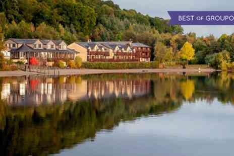 Lodge on Loch Lomond - One Night Stay For Two With Breakfast, Dinner and Leisure Club Access - Save 42%